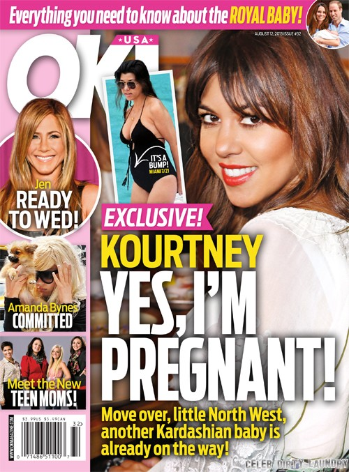 Kourtney Kardashian PREGNANT Again - See The Baby Bump!!! (PHOTO)