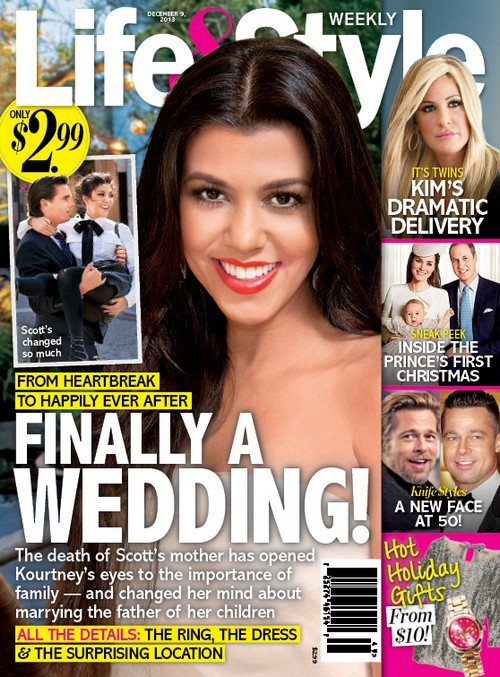Kourtney Kardashian and Scott Disick Engaged: Wedding and Marriage At Last? (PHOTO)