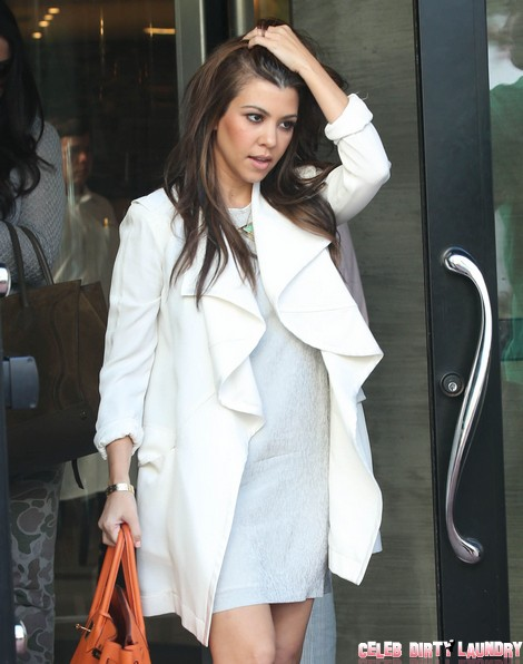 Kourtney Kardashian Eats Balls While Scott Disick Blows His Restaurant (Video)