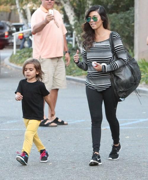 Kourtney Kardashian Furious After Passenger Tells Her Bratty Kids To Shut Their Mouths On Plane