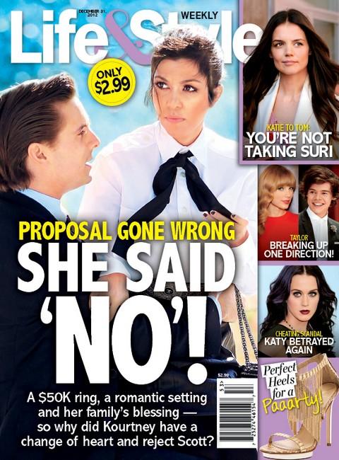 Kourtney Kardashian Says NO To Scott Disick's Marriage Proposal (Photo)