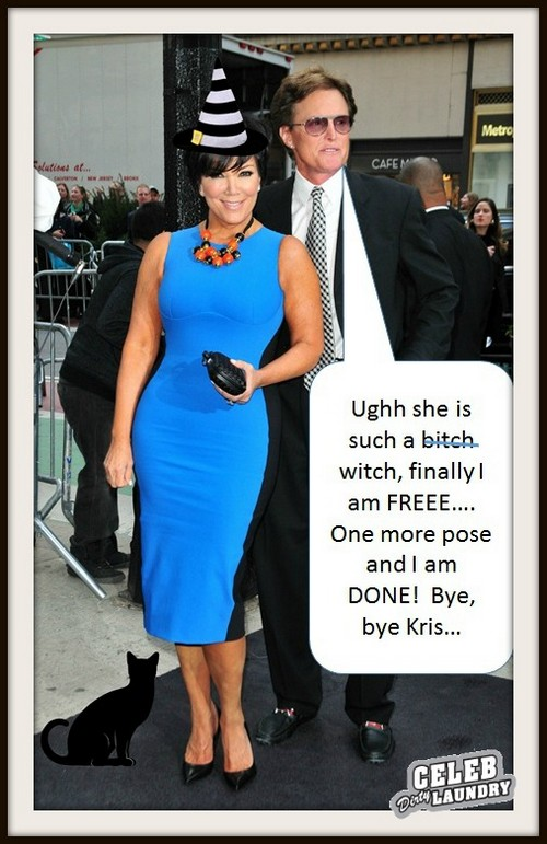 Kris Jenner and Bruce Jenner Separate Officially and Living Apart - Divorce To Follow