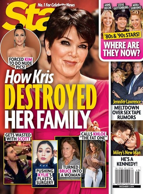 Kris Jenner Drove Bruce Jenner To Sex Change: How She Destroyed Her Family (PHOTO)