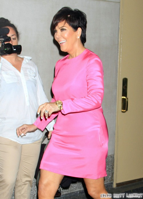 Kris Jenner Throws Bruce Jenner Out of the House - Couple Separate Over North West