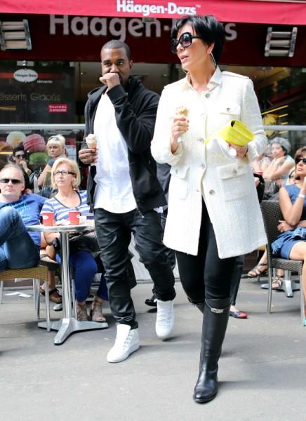 Kris Jenner, Kanye West Battle Over First Baby Pics, Will Kim Kardashian Let Her Mom Win? 0702