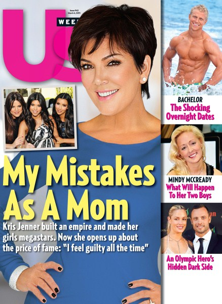 Kris Jenner Admits Guilt Over Being A Terrible Mother - Kim Kardashian Agrees! (Photos)