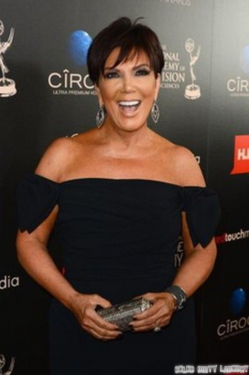 Kris Jenner Dumps Kim Kardashian Right After Baby Born - Hates The Name North West