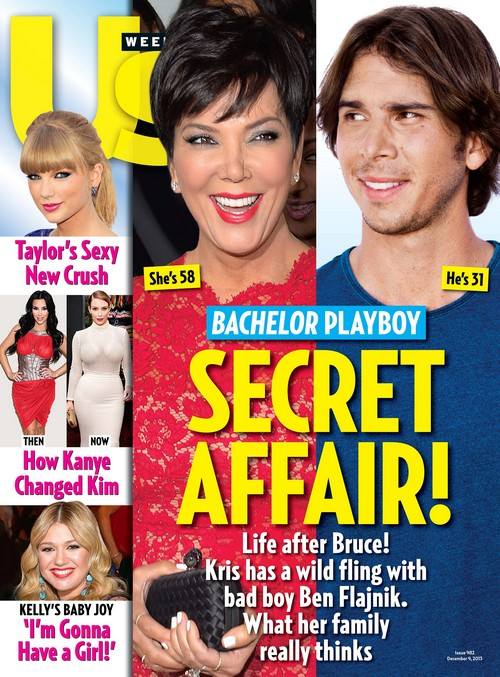 Kris Jenner Sinks Cougar Claws Into Ben Flajnik in Bold Attention-Seeking Move (PHOTO)