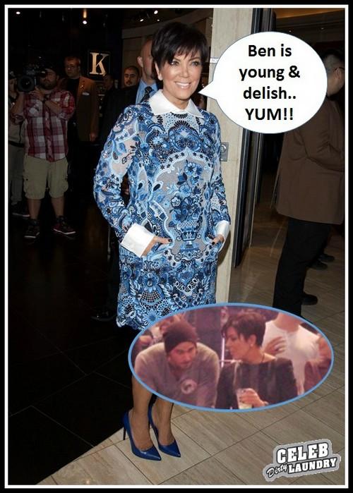Kris Jenner Sinks Cougar Claws Into Ben Flajnik in Bold Attention-Seeking Move (PHOTO)