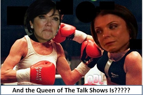 Kris Jenner and Bethenny Frankel In Nasty Battle Over Talk Show Guests