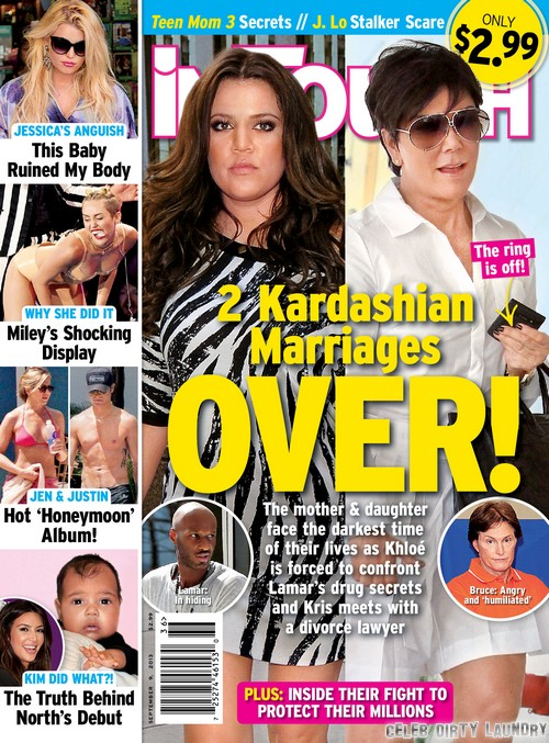 Bruce and Kris Jenner Separated: Wedding Ring Off and Divorce Negotiations Ongoing (PHOTO)