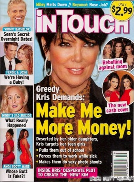 Kris Jenner Turned Kylie and Kendall Kenner Into Cash Cows Like Her Other Daughters