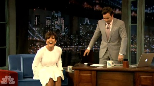 Video: Kris Jenner Apologizes For Bruce Jenner - Humiliates Husband On Jimmy Fallon!