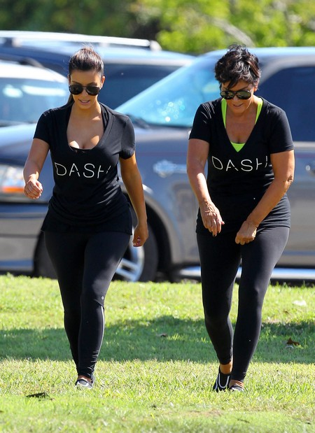 The Kardashian Family Out For A Morning Row