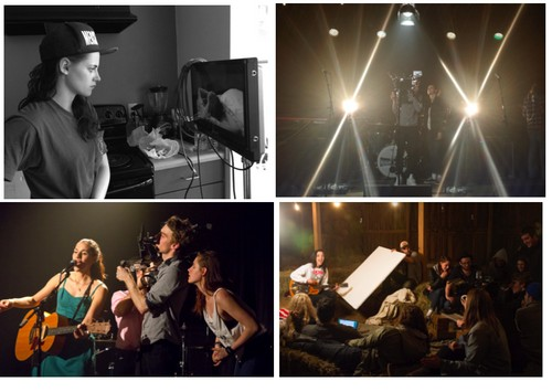 Kristen Stewart Directorial Debut With Music Video For Sage + The Saints (VIDEO - PHOTOS)