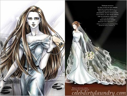 kristen stewart bella wedding dress. Bella Swan#39;s wedding dress