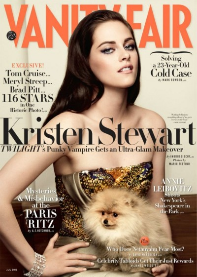 Kristen Stewart Tells Vanity Fair She's A Weirdo Who Likes To Smoke Pot 0605