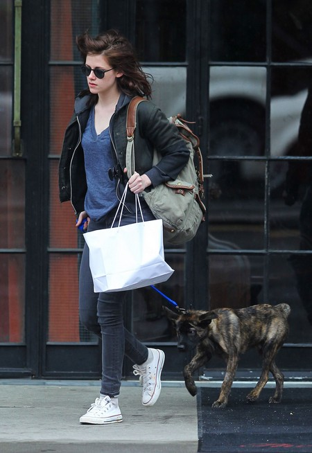 Robert Pattinson and Kristen Stewart Hook Up - To Walk Their Dogs!