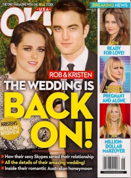 Kristen Stewart And Robert Pattinson Australian Wedding – Marriage Is On!