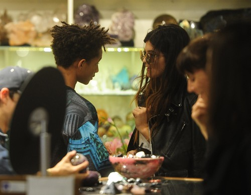 Kylie Jenner and Jaden Smith Hook Up For Crystal Date (PHOTOS)