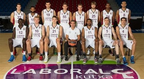 Lamar Odom's Basketball Career Restarts in Spain Playing for Spanish Team Laboral Kutxa Vitoria