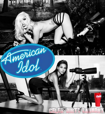 Beyonce & Lady Gaga to scandalize American Idol Finale