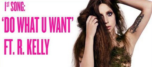 """Lady Gaga and R. Kelly Release """"Do What U Want"""" - Listen to New Collaboration (AUDIO)"""