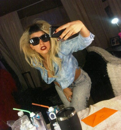 Lady Gaga Shows Off New Hairstyle - Photo