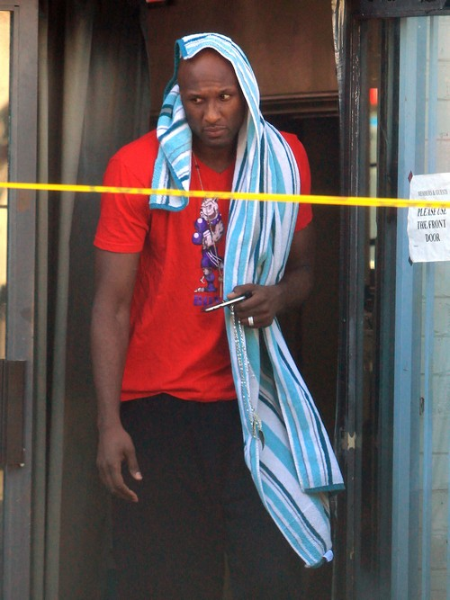 Bruce Jenner And Lamar Odom Now Good Friends, Bruce Helps Keep Lamar Clean and Sober (PHOTOS)