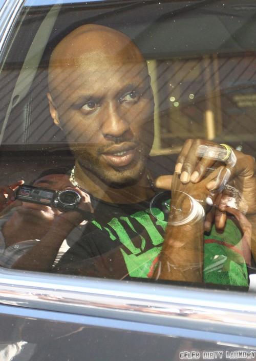 Lamar Odom Checks Into Rehab - Puts Khloe Kardashian, Kris Jenner On His Enemy List and Prepares for Divorce