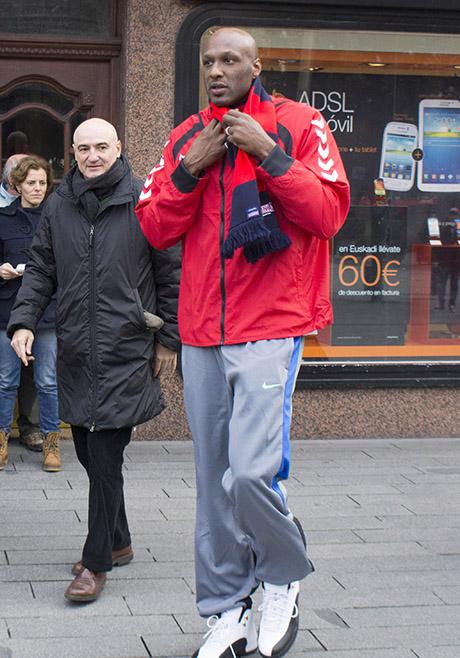 Lamar Odom Prepares For NBA Return With The New York Knicks!