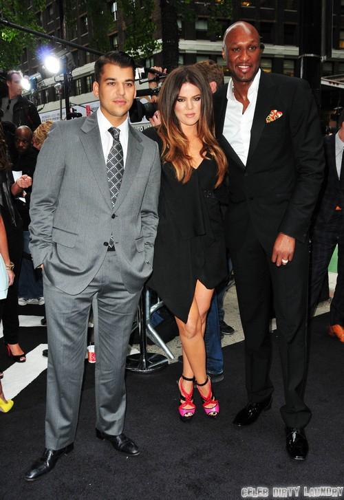 Rob Kardashian Attacks Lamar Odom For Cheating On Khloe Kardashian with Jennifer Richardson and Polina Polonsky