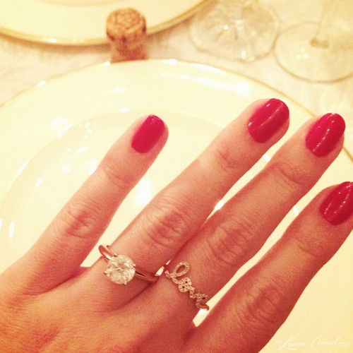 Lauren Conrad Engaged to William Tell - See Engagement Ring (PHOTO)