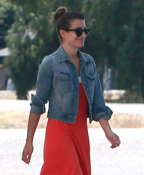 Lea Michele Already Moving On After Cory Monteith Death and Spotted with New Man?