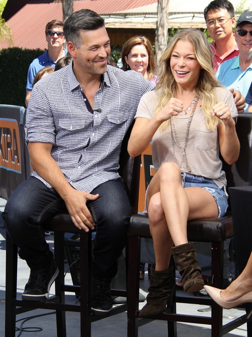 LeAnn Rimes and Eddie Cibrian Admit Marriage Counseling - Blame Brandi Glanville? (PHOTOS)