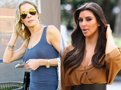 Adulteress LeAnn Rimes & Sex Tape Star Kim Kardashian Go To Church Together
