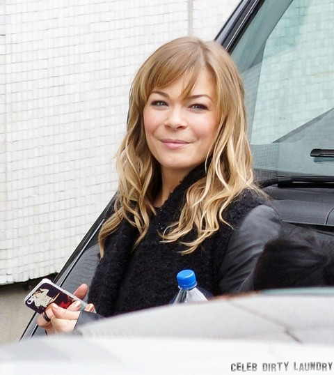 LeAnn Rimes At The London Studios