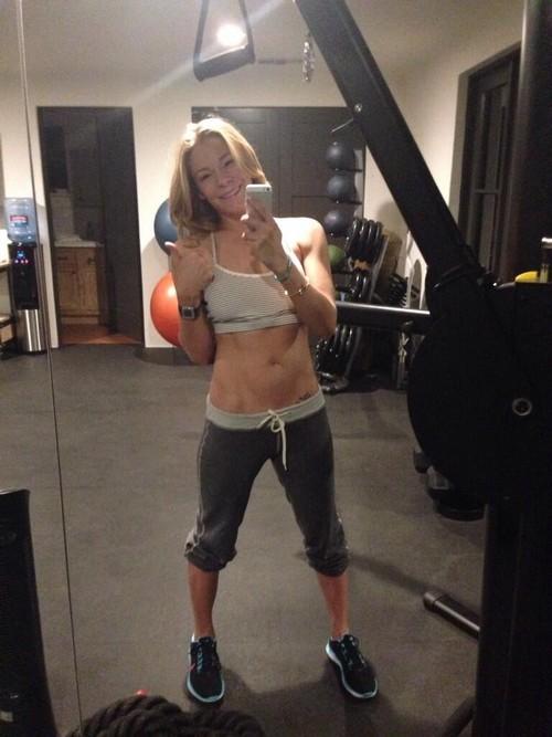 LeAnn Rimes Fake Gym Selfie: Laxatives or Photo-Shopped? (PHOTOS)
