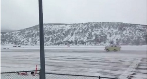 LeAnn Rimes Witnesses Private Jet Crash At Aspen Airport (VIDEO)