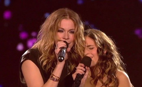 Drunk LeAnn Rimes Upstages X-Factor's Young Carly Rose Sonenclar During Finale Duet Performance (Video)