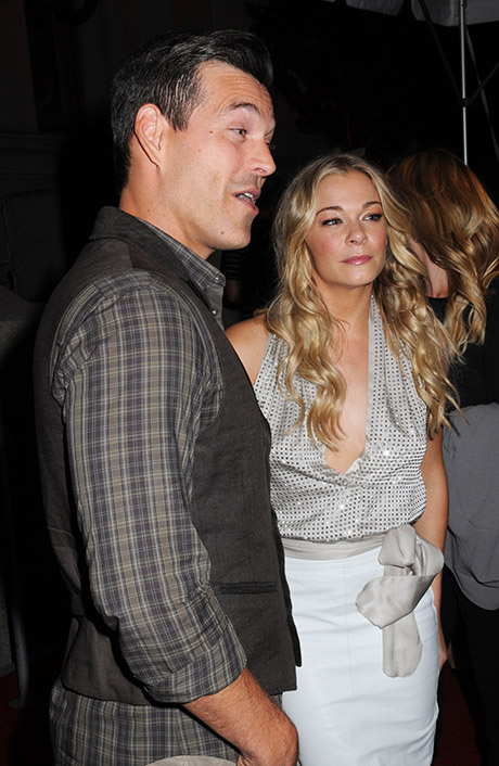LeAnn Rimes And Eddie Cibrian Bash Brandi Glanville In Trashy New Reality Show Promo!