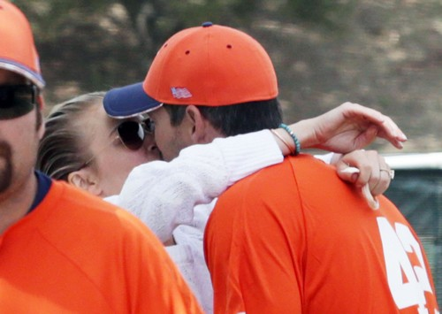 LeAnn Rimes' Inappropriate PDA With Dislocated Jaw at Eddie Cibrian's Son's Baseball Game