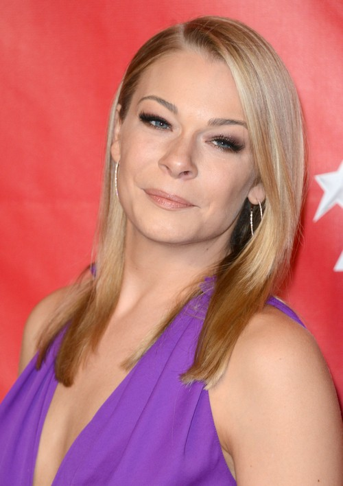 LeAnn Rimes Pregnant - Chubby and Calm with Baby Bump Showing At MusiCares Event? (PHOTOS)
