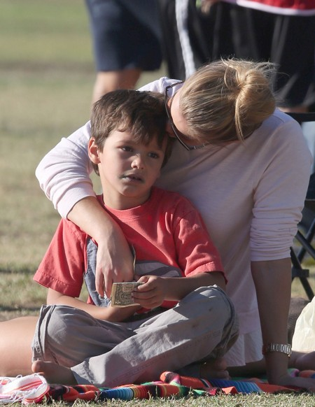 LeAnn Rimes Ruins Another Soccer Game For Brandi Glanville's Sons - Her Kids Hate LeAnn and It Shows (PHOTOS)