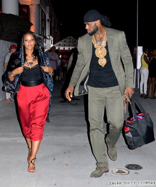 LeBron James and Savannah Brinson Marry and Beyonce Sings - But Is ...