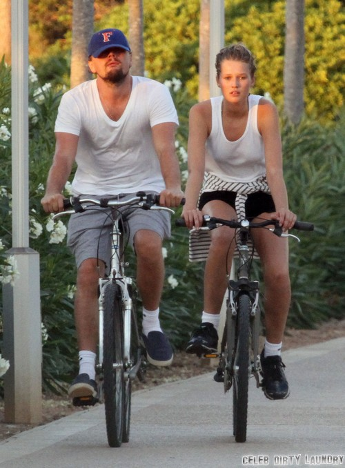 Leo Dicaprio Wants a Baby With Victoria's Secret Model Girlfriend Toni Garnn Now - Grandchild for Mother Irmelin?