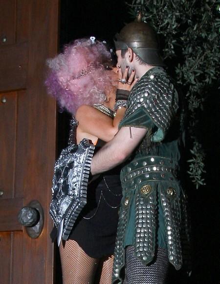 Christina Aguilera & Matthew Rutler Dress Up For Halloween