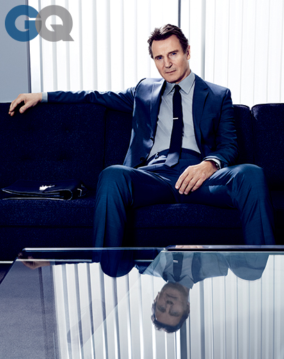Liam Neeson: Woody Allen Sexual Abuse Scandal, Drugs, Dating - GQ Cover Interview (PHOTO)
