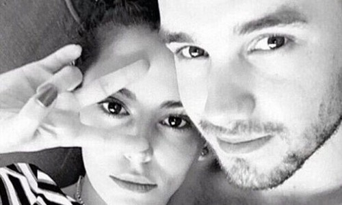 Liam Payne post picture of Cheryl Fernandez-Versini and him together