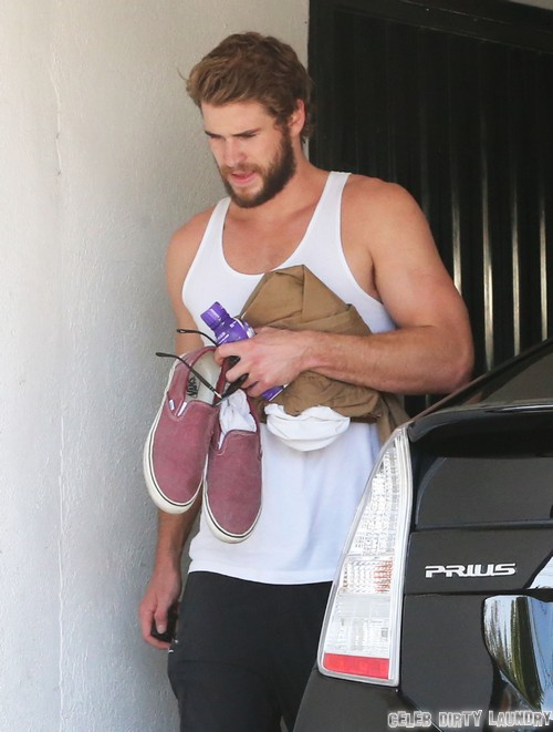 Liam Hemsworth Ditches Miley Cyrus And Partys Hard With Kellan Lutz